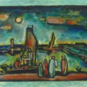 ジョルジュ・ルオー 『キリストと漁夫』 購入